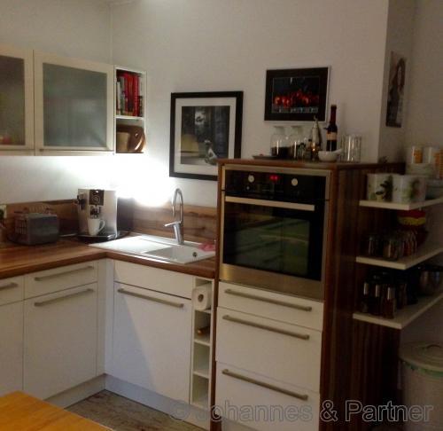 Einbauküche kann auf Wunsch von den Vormietern abgekauft werden