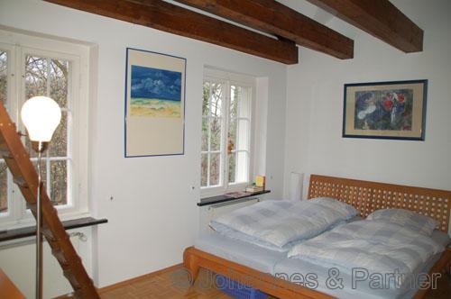 Schlafzimmer in der oberen Ebene