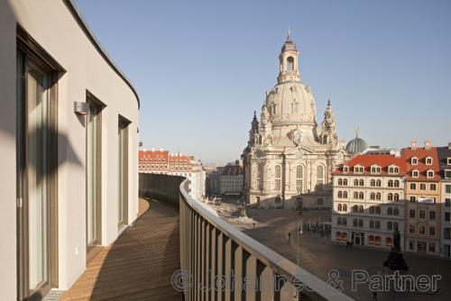 Blick von einem der Balkone