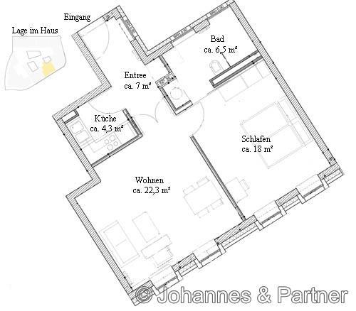 Grundriss Wohnung 35