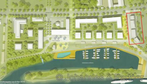 Außenanlagenplan HafenCity