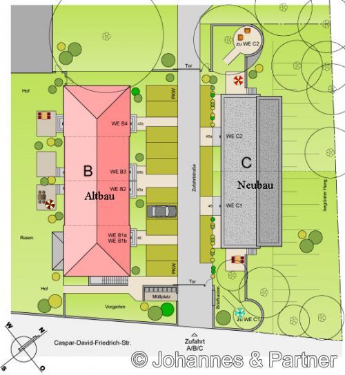Außenanlagenplan