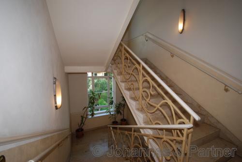 sehr schönes Treppenhaus