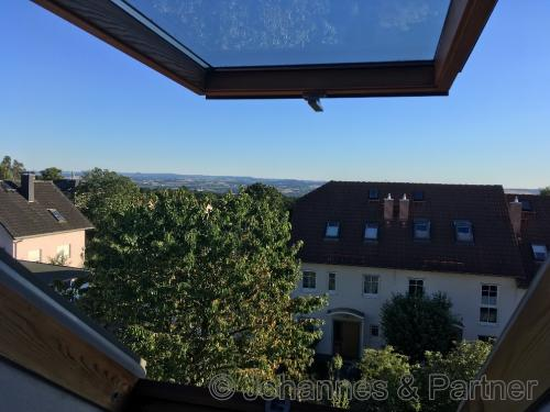 Blick aus dem Dachgeschoss