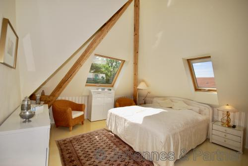 Gästezimmer bzw. Kinderzimmer im Dachgeschoss