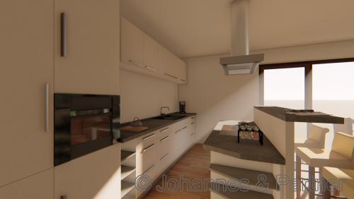 Küche (Illustration)