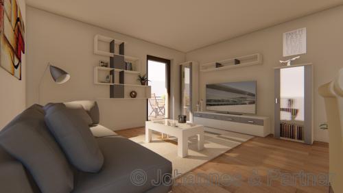 Wohnzimmer  (Illustration)