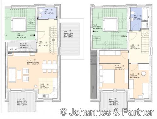 Grundriss Wohnung 6