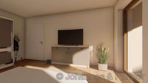 Schlafzimmer  (Illustration)