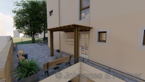 Eingangsbereich (Illustration)