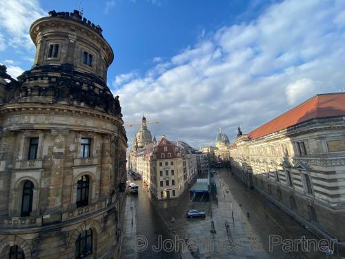Ausblick zur Fraunkirche
