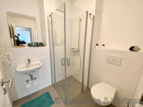 Beispiel Badezimmer (Musterwohnung)