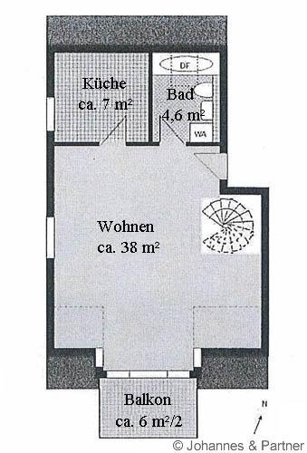 Grundriss untere Ebene
