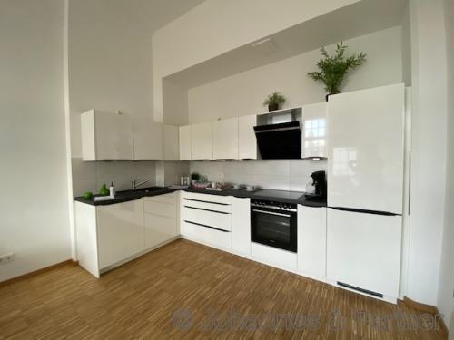 Küche (Beispielfoto Musterwohnung)