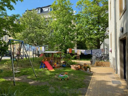 Hof- und Spielplatz
